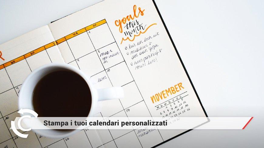 Calendari personalizzati per le aziende