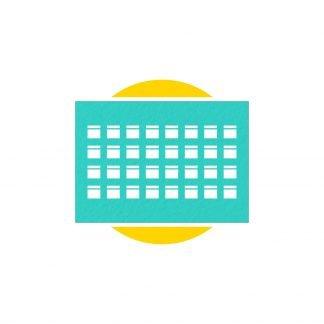stampa calendario planning parma