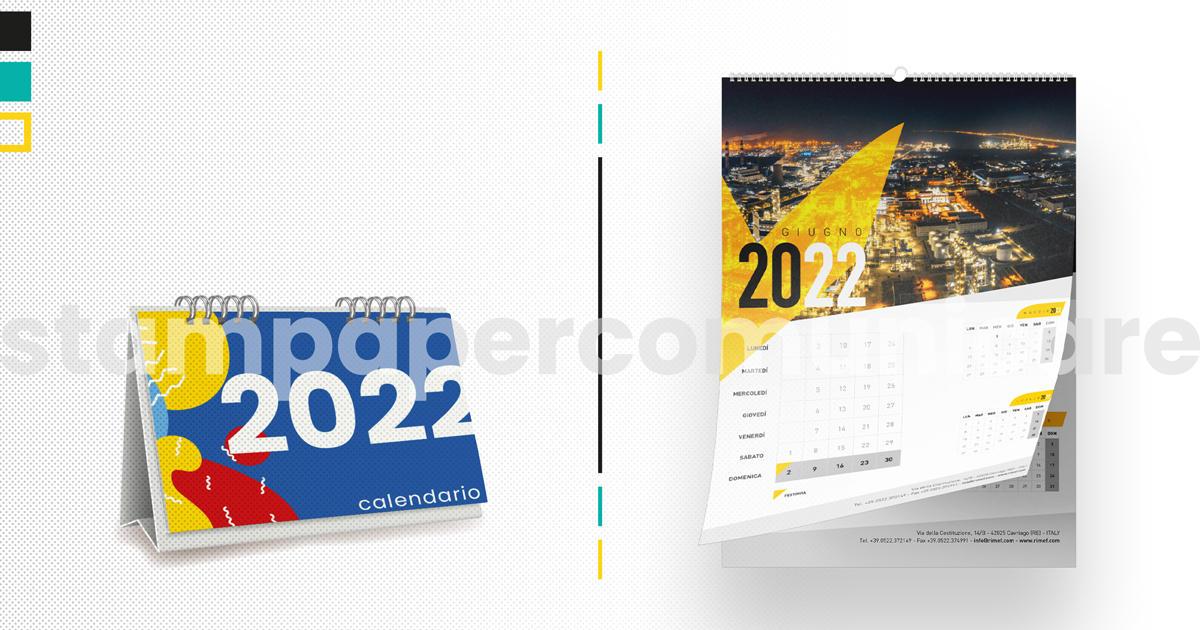 stampa calendari aziendali
